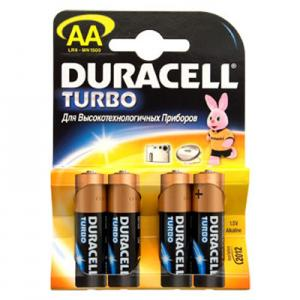 Элемент DURACELL  LR6 Турбо, Ultra